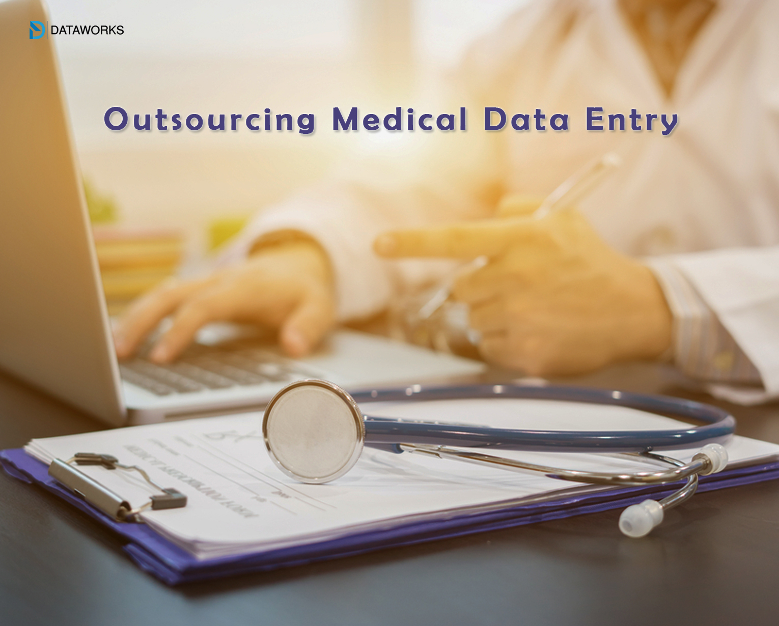 How does outsourcing medical data entry benefit health care industries?