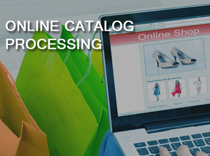 Online Catalog processing